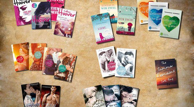 New Adult – die wichtigsten Bücher 2015