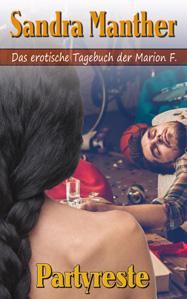 Buchcover 'Partyreste' von Sandra Manther