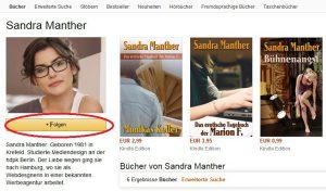 Der neue Folgen-Button auf amazon.de