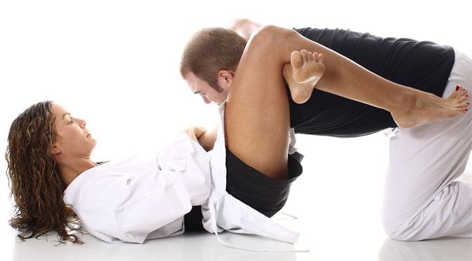 Sandra Manther: Das Jiu-Jitsu Fotoshooting