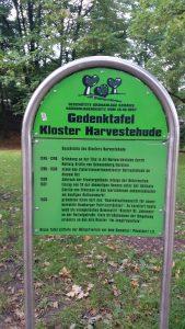 Gedenktafel Kloster Harvesterhude