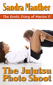 Book cover The Jujutsu Photo Shoot by Sandra Manther